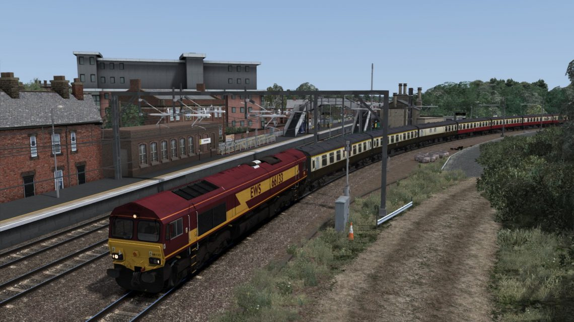"""1Z18 05.00 Eastleigh – Liverpool Lime Street """"Chester and Liverpool Explorer"""" (2018)"""