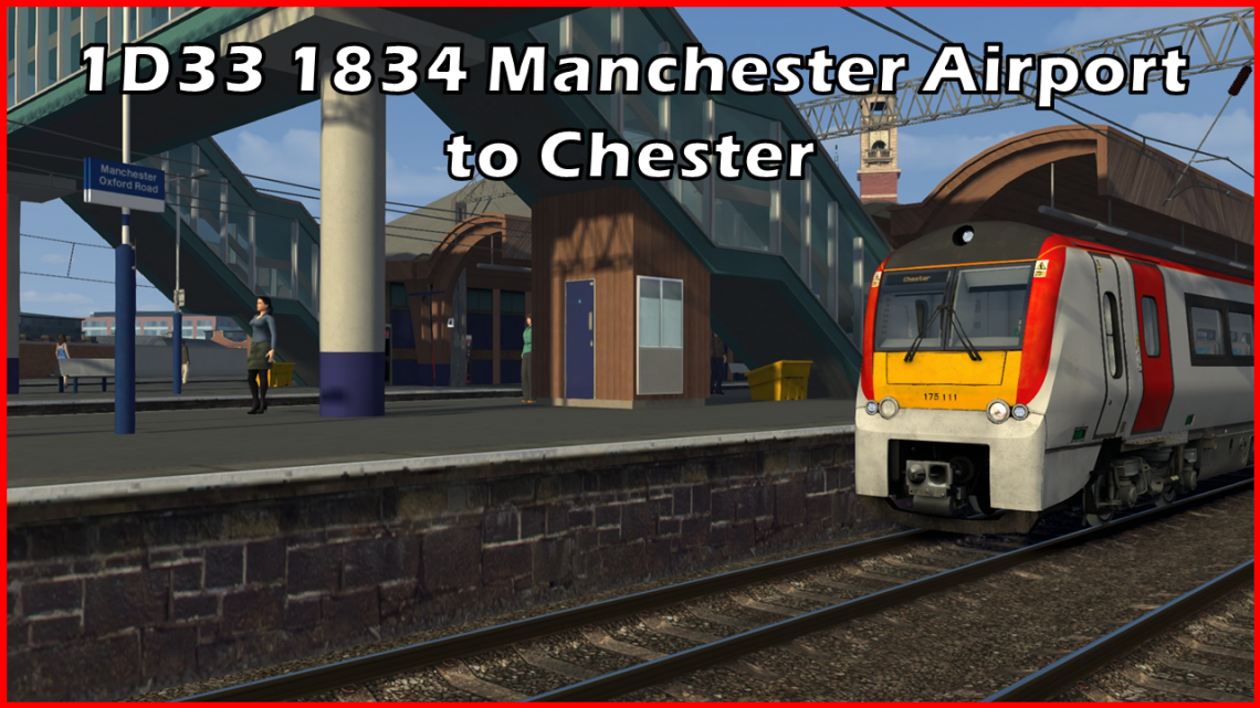 1D33 1834 Manchester Airport to Chester