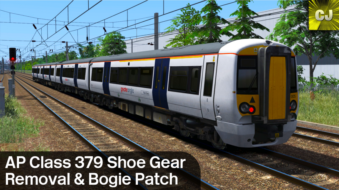 AP Class 379 Shoe Gear Removal & Bogie Patch