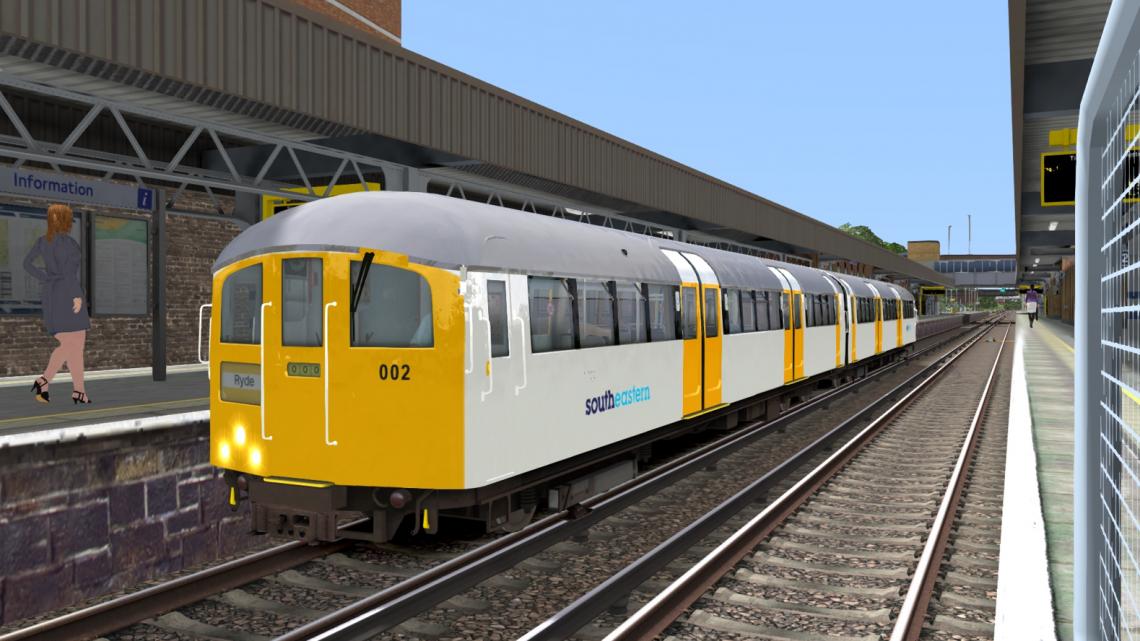 South Eastern White & Yellow Class 483 – (Class43Harrison)
