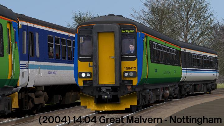 (2004) 14:04 Great Malvern – Nottingham