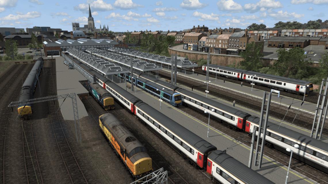 2K85 1627 Norwich to Cambridge