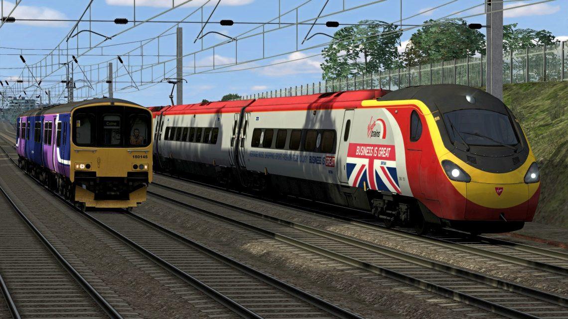 [RS] 390151 – 1M17 1640 Glasgow Central – London Euston (2018)