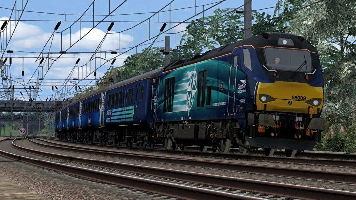 [RS] 68009 – 5Z71 1150 Crewe Coal Sidings – Carlisle Kingmoor (2015)