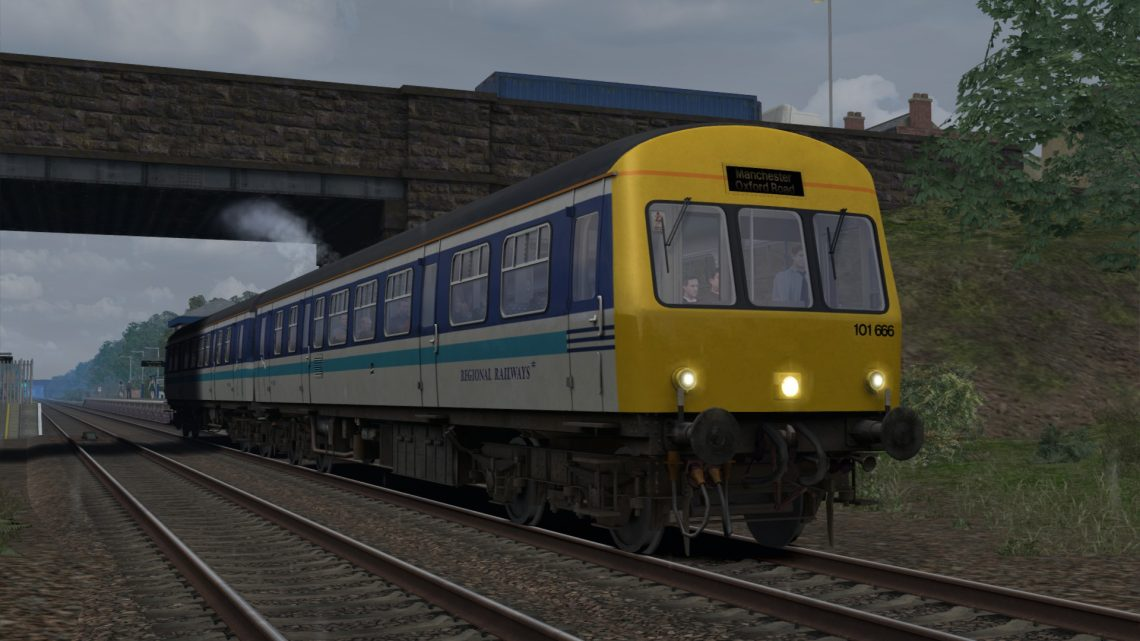2H44 0859 Warrington Central to Manchester Oxford Road