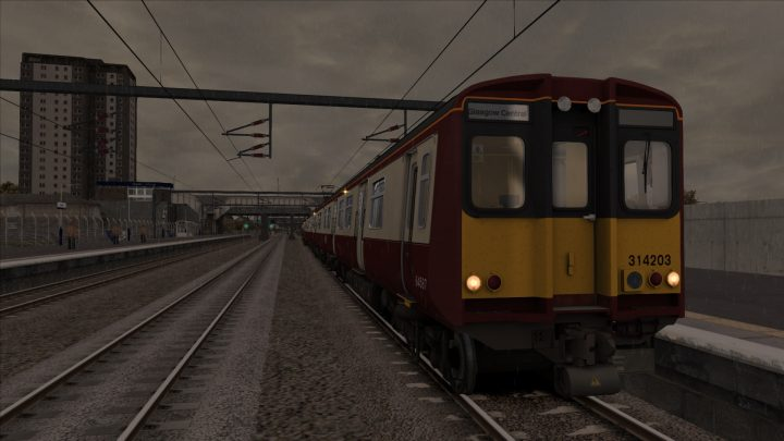 [GG] 2G00 0605 Gourock – Glasgow Central (2003)