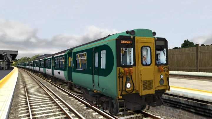 [455] 2J19 1214 London Bridge to Caterham & Tattenham Corner