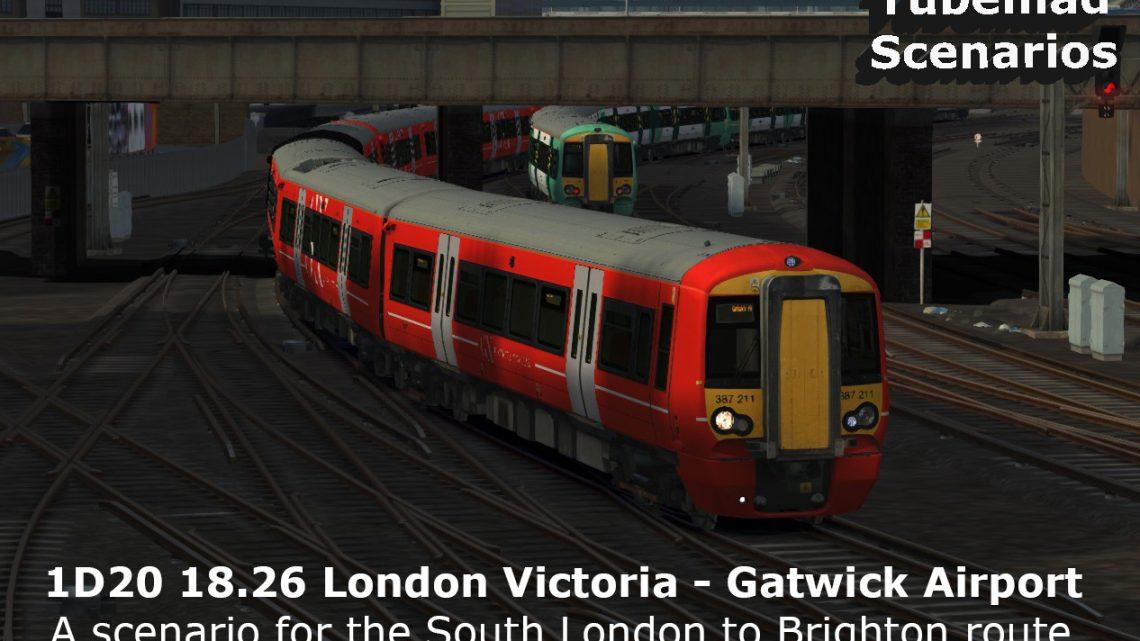 [JU] 1D20 18.26 London Victoria – Gatwick Airport