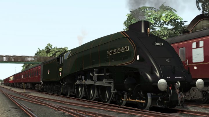A4 60009 Union Of South Africa Current Condition Reskin