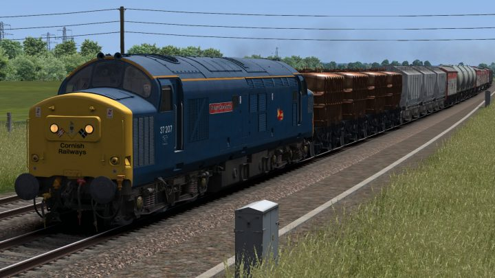 (LT4R) 6C39 1120 Plymouth – Severn Tunnel Junction