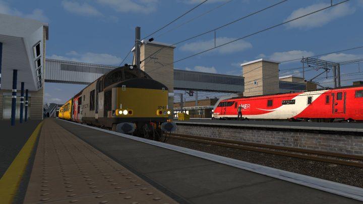 [HP] 1Q23 15:15 Derby R.T.C (Network Rail) – Welwyn G.C F.D. (37611 + 37175)
