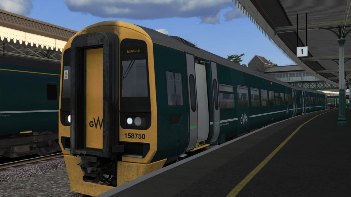 (RP) 2F05 Bristol-temple-Meads to Exmouth. 06,09,2021