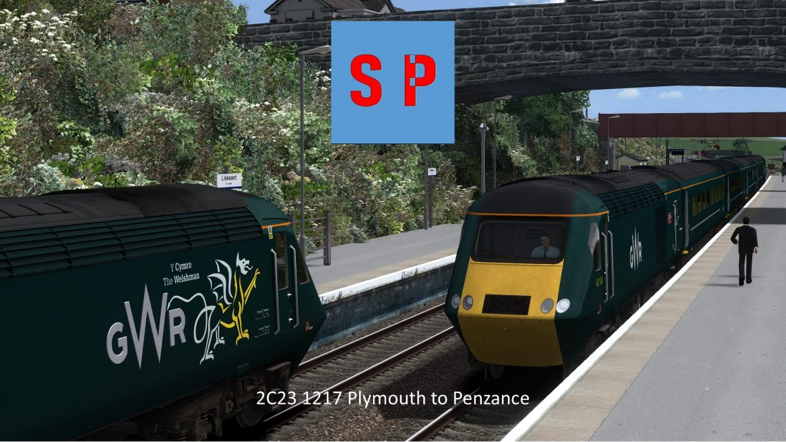 2C23 1217 Plymouth to Penzance