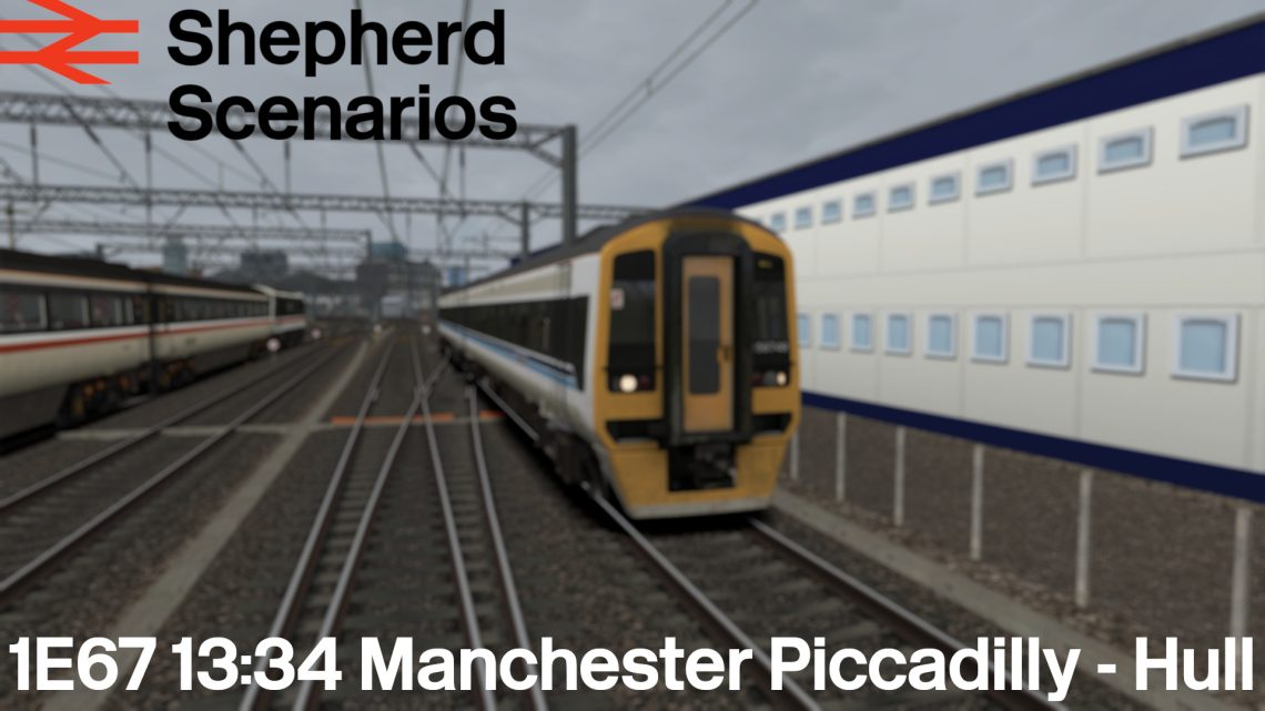 SS / 1E67 13:34 Manchester Piccadilly – Hull
