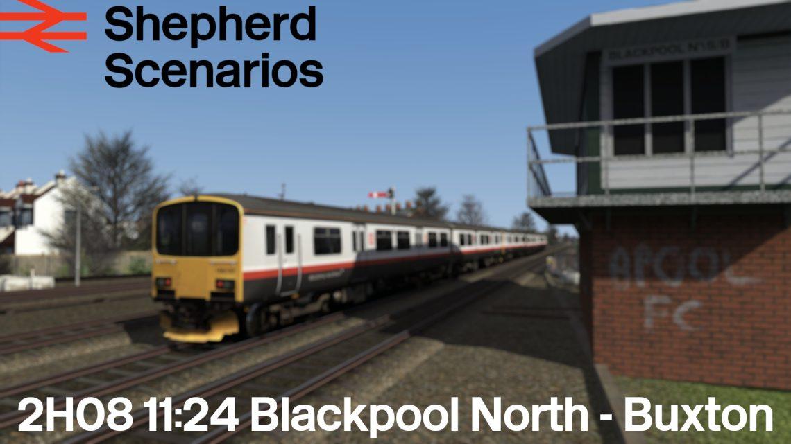 SS / 2H08 11:24 Blackpool North – Buxton