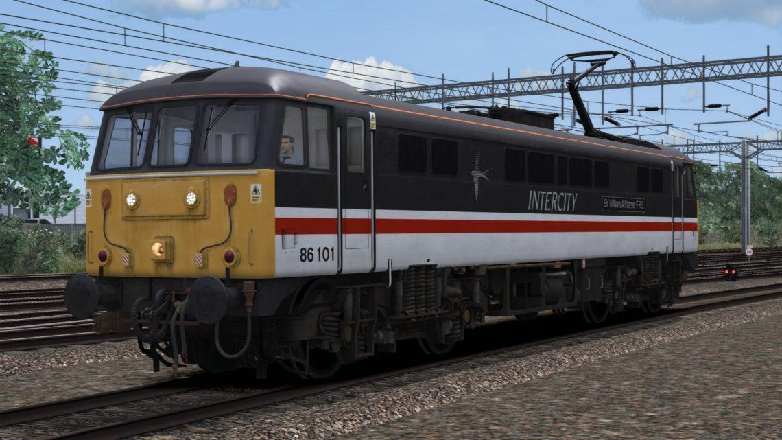 Class 86 (101): BR InterCity Swallow (Modern)