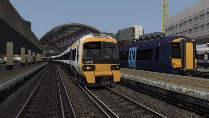 2K02 17:12 London Victoria to Sheerness on sea (2019) v1.1
