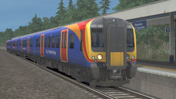 2B40 11:05 Bournemouth to Winchester