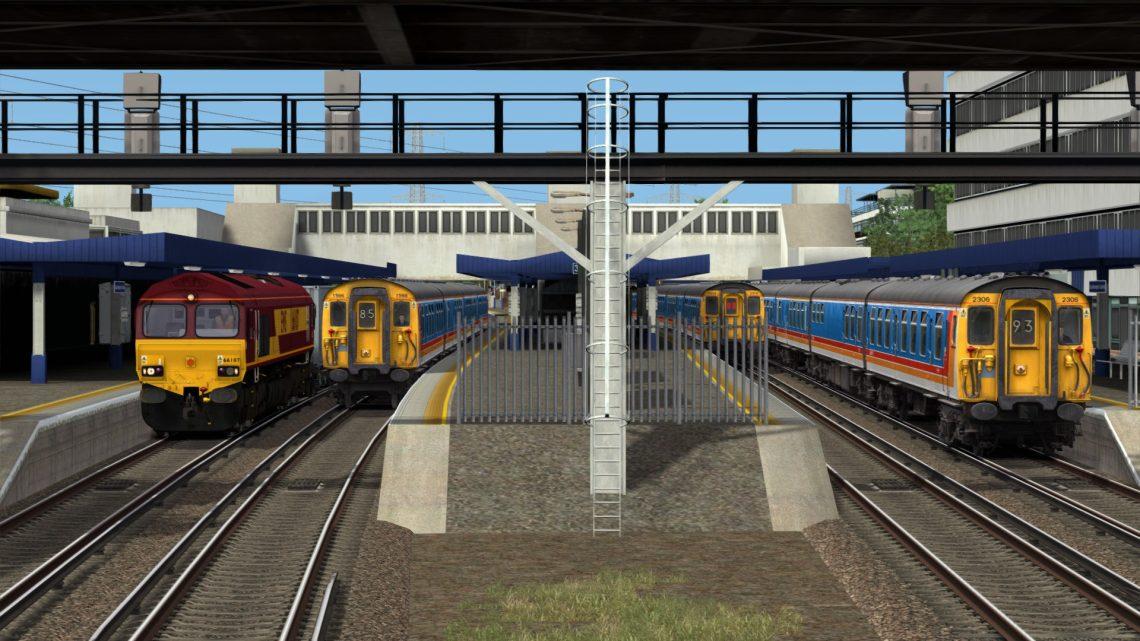 SP: 1B78 08:45 Poole – London Waterloo (WTT)