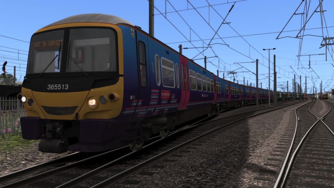 3C48 1742 Hornsey E.M.U.D. to London Kings Cross