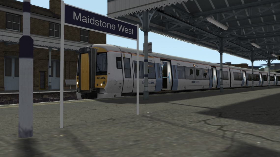 2T13 0803 Maidstone West – Strood