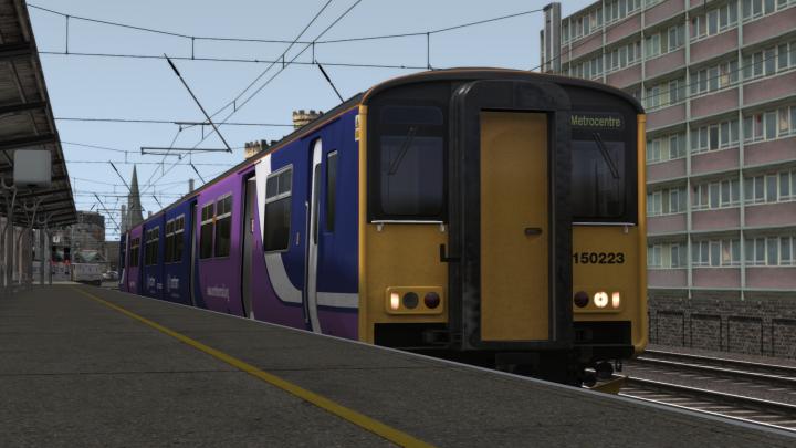 2W25 1515 Newcastle to Metrocentre