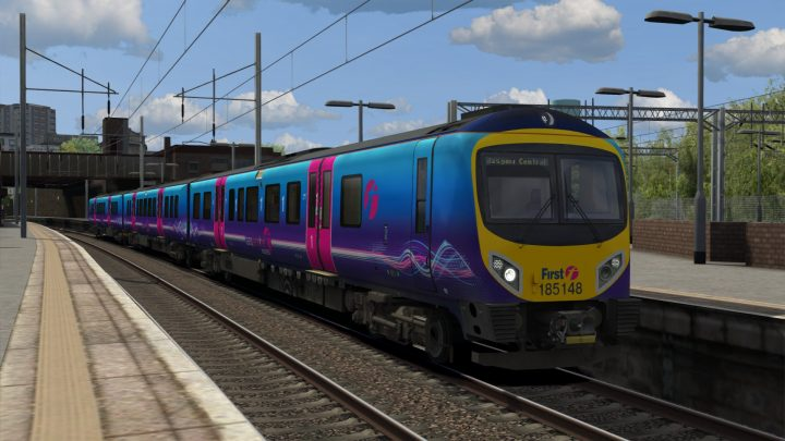 1S35 0618 Manchester Airport to Glasgow