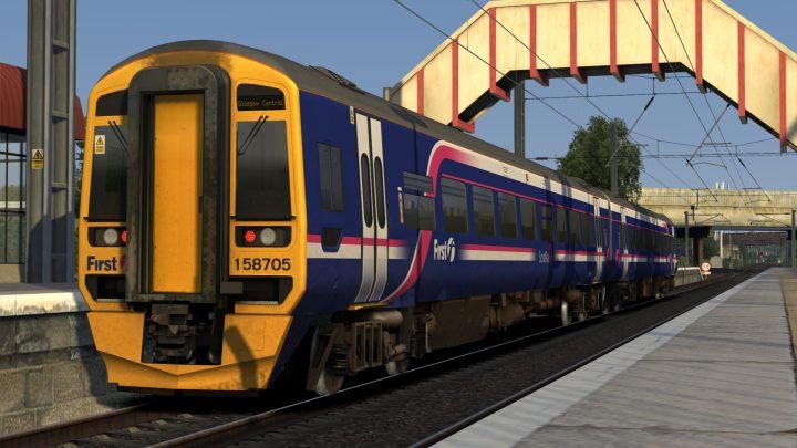 2R07 0607 Whifflet to Glasgow
