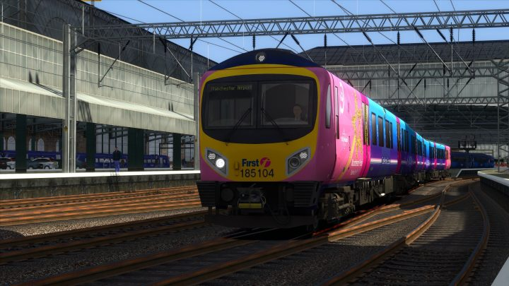 1M94 Glasgow Central to Manchester Airport