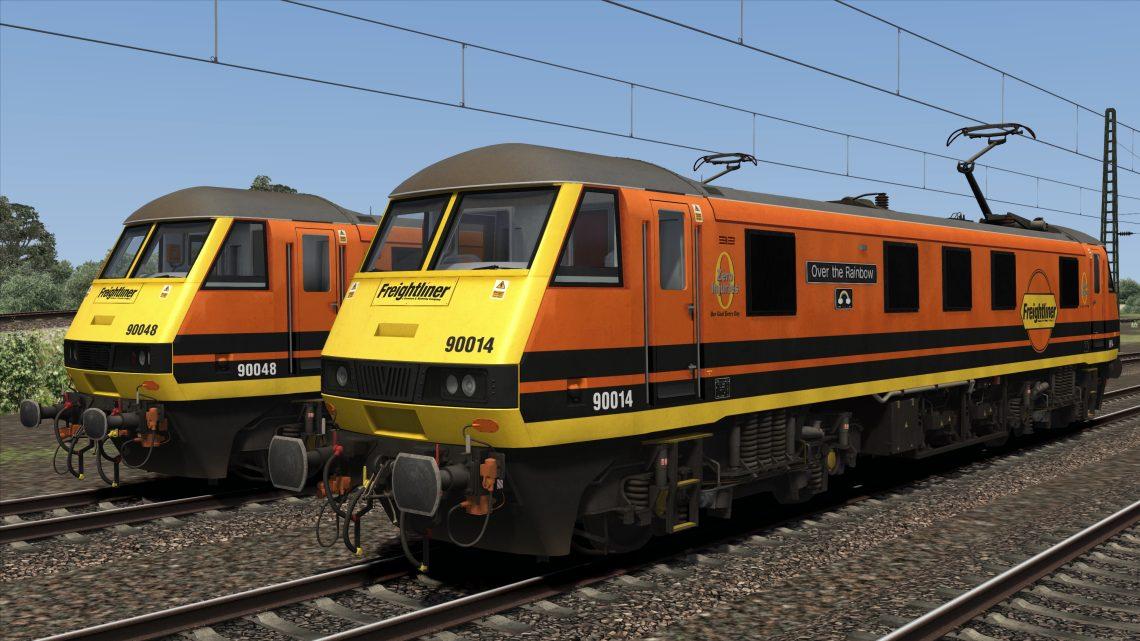 Class 90 G&W Freightliner – v2.00 –