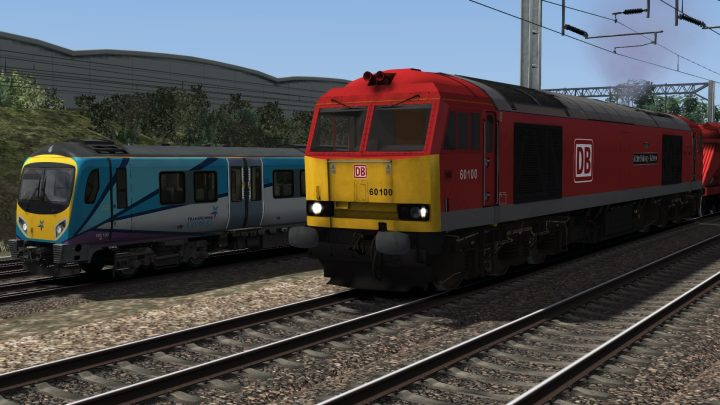 DB Cargo Class 60 Biomass Freight Scenario For The DTG Liverpool to Manchester Route