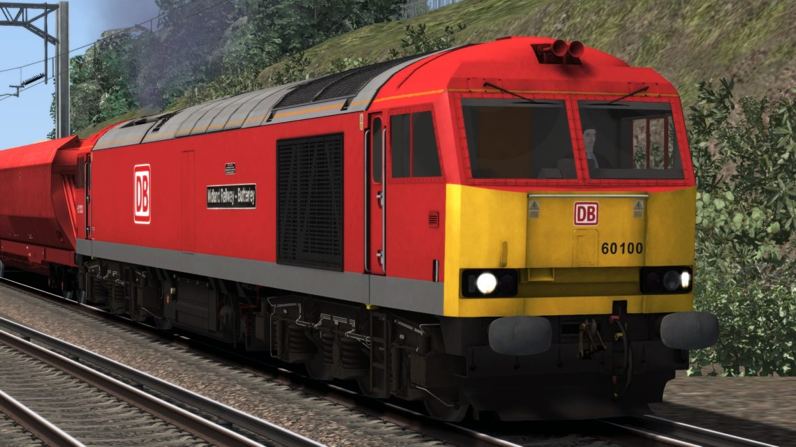 Class 60 DB Cargo Reskin Pack For The JustTrains Class 60 Advanced