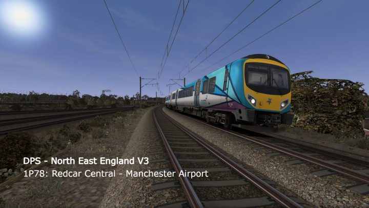 [V1] 1P78: Redcar Central – Manchester Airport