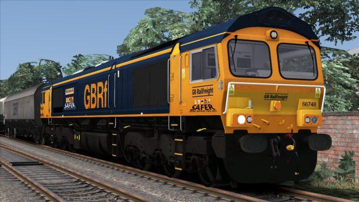 """Class 66748 """"West Burton 50"""" """"Safety"""""""