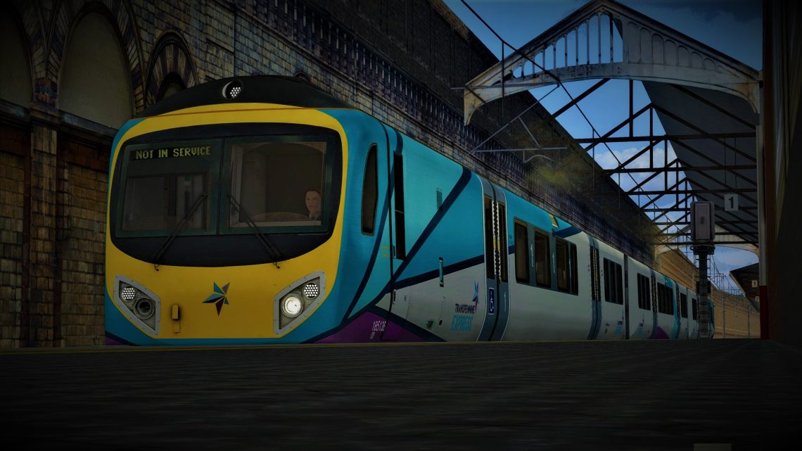 *Subscription* 5F26 Crewe to Liverpool Lime Street ECS (185)