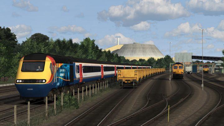 1D58 17:34 St Pancras International to Nottingham