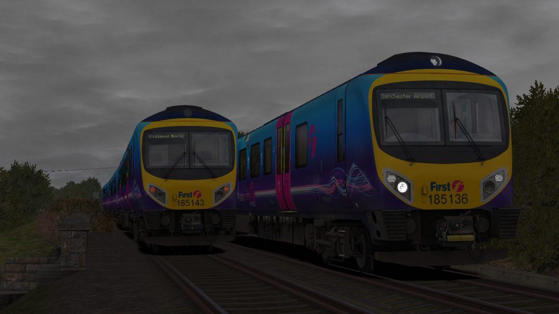 1U59 09:40 Blackpool North & Barrow-in-Furness-Manchester Airport