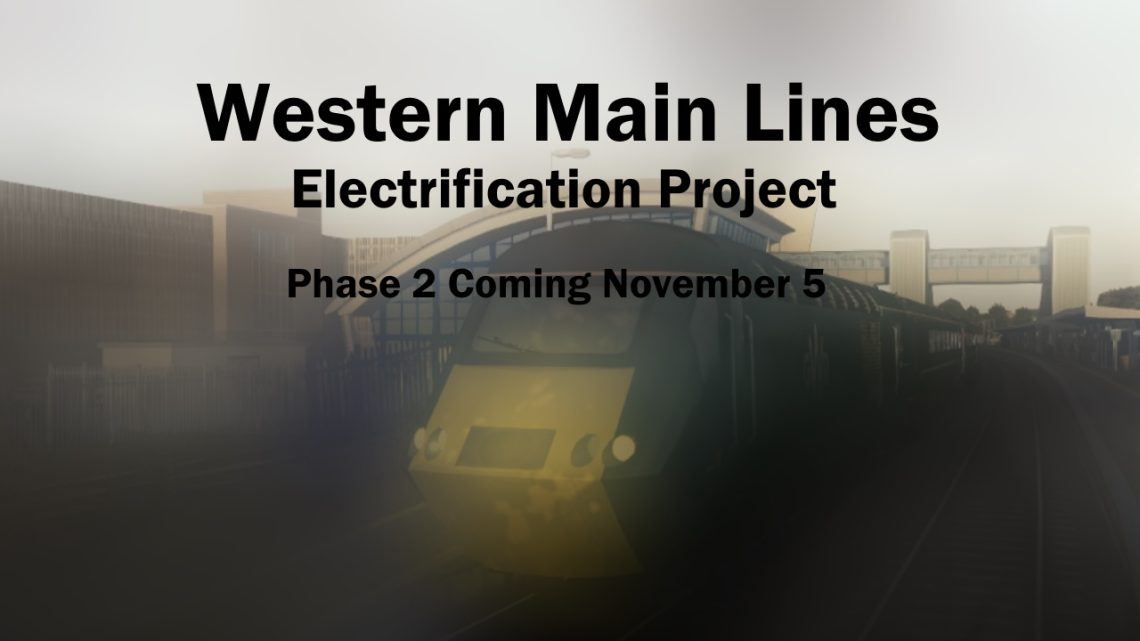 Western Main Lines Electrification Project – Phase 1